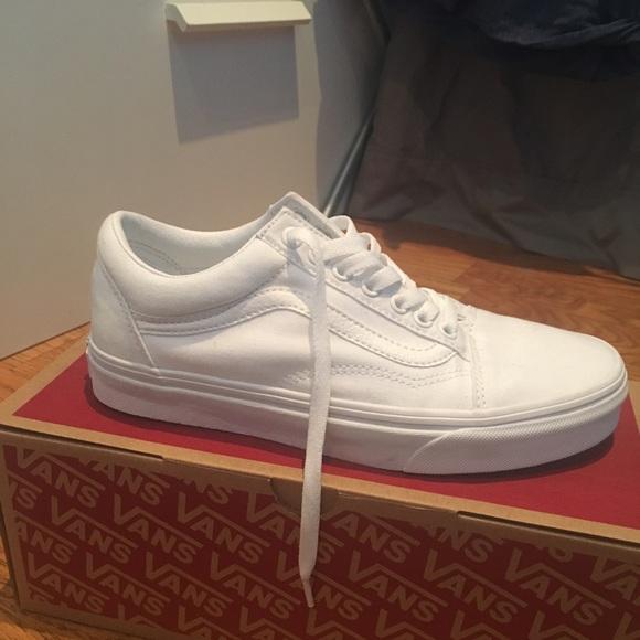 Vans Shoes   Vans Old Skool White